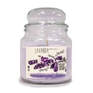 Mirisna staklenka L-lavanda