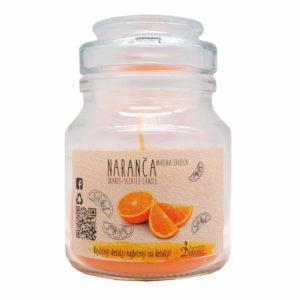 Mirisna staklenka S - Naranča