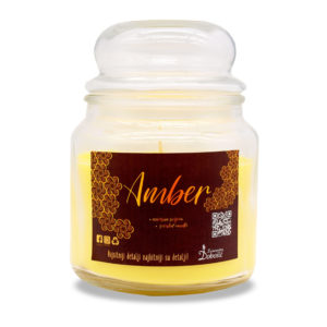 Mirisna staklenka L - Amber