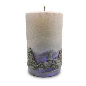 Božićna svijeća s led modulom
