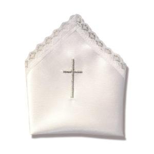 Svileni krsni rupčić (motiv: križ)
