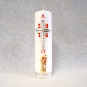 Uskrsna svijeća za crkvu.